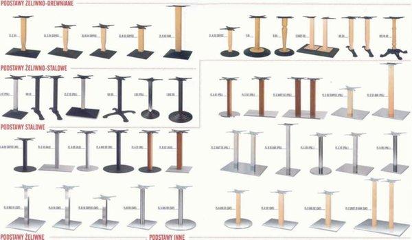 podstawy stolików barowych